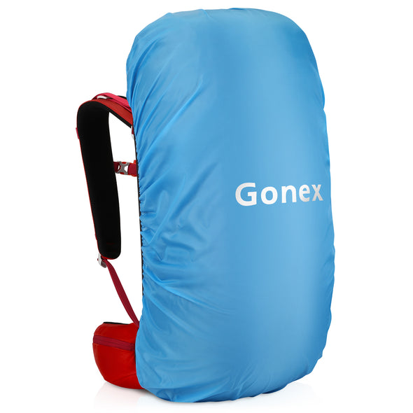 Gonex 45+5L Hiking Backpack, Outdoor Travel Backpack with Rain Cover for Climbing, Camping, Travelling