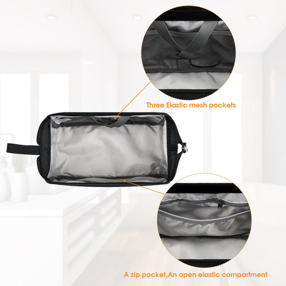 Gonex Hanging Toiletry Bag with 2pcs Handle