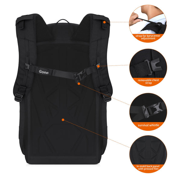 Gonex 35L Travel Backpack for 14inch Laptop