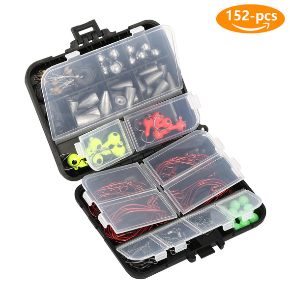 Magreel Fishing Tackle Set 152Pcs
