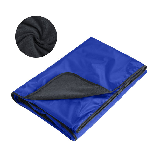 Gonex Hooded Stadium Blanket with a Drawstring Backpack