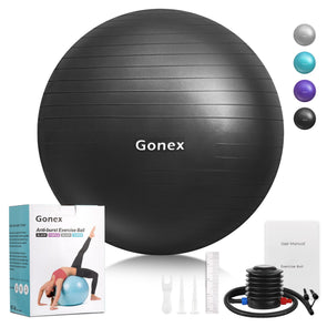Gonex Anti-Burst & Non-Slip Exercise Workout Ball