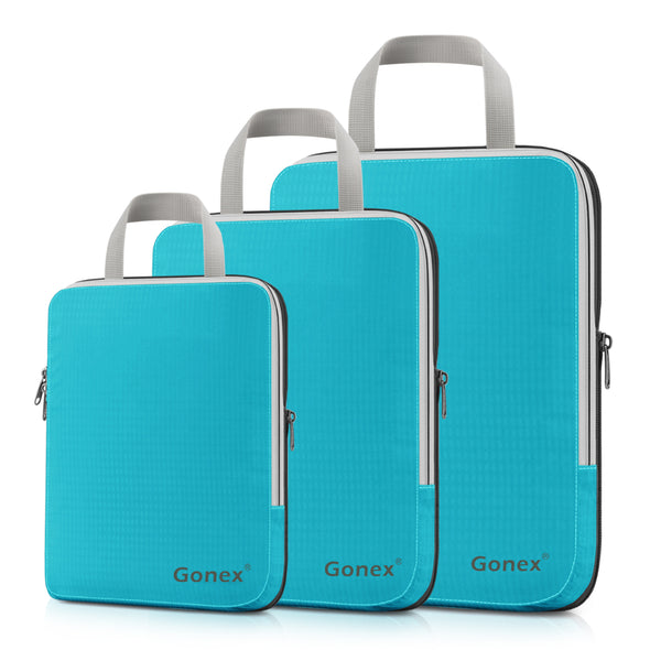 Gonex Extensible Packing Cubes-3 sets Larger Size