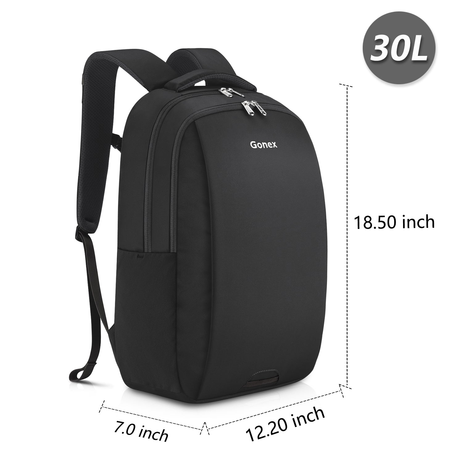 Travel Laptop Backpack, Gonex Business Anti Theft Slim Durable Laptops  Backpack Water Resistant College School Computer Bag for Women   Men Fits  14 inch ... 719a9fae16