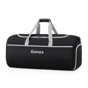 Gonex Weekender Bag Foldable Duffel Sports Duffle New Version 70L