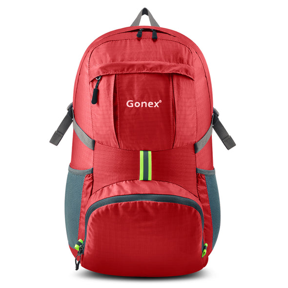 Gonex 35L Breathable Mesh Shoulder Straps Travel Daypack