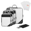 Gonex Compression Packing Cubes Travel Set