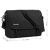 Gonex Multifunctional Solid Color Messenger Bag
