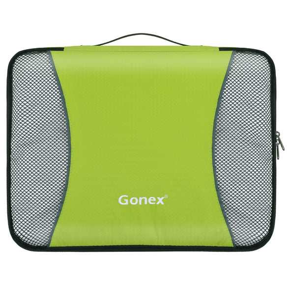 Gonex Packing Cubes Set 3PCs Travel Organizers Luggage Organizers Pouches