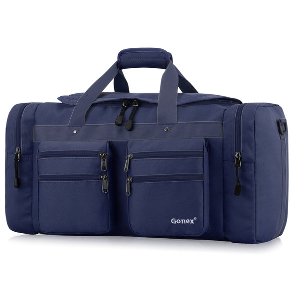 Gonex Weekender Bag Travel Duffel Gym Sports Luggage Bag Water-resistant Many Pockets