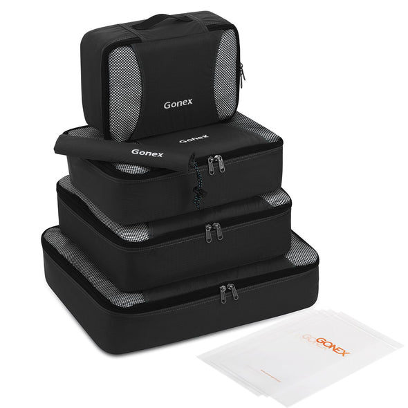 Gonex Lightweight Travel Packing Cubes Set