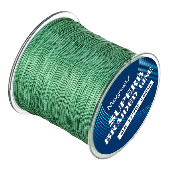 Magreel Abrasion Resistant Braided Fishing Line 6lb-80lb