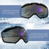 Gonex Ski Goggles, Anti Fog 100% UV Protection Snow Goggles Teens & Adults Case Large Size