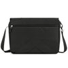 Gonex Messenger Bag, Multifunctional Shoulder Bag for Laptop, Commute and Travel, Black