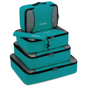 Gonex Packing Cubes 5 Set Luggage Travel Organizers