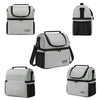 Bagmine Double-decker Insulated Lunch Box