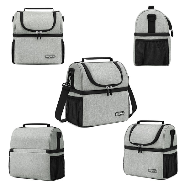 Gonex Bagmine Double-decker Insulated Lunch Box