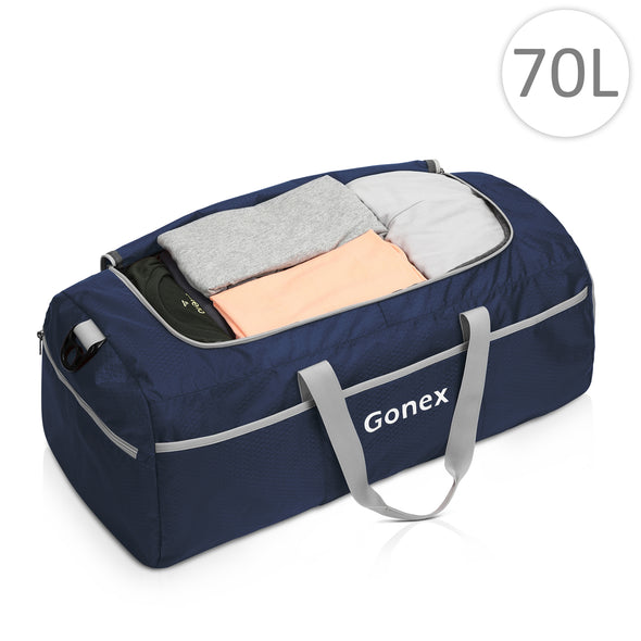 Gonex Foldable Duffel Sports Duffle New Version 70L