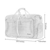 Gonex 40L Water Repellent Packable Travel Duffle Bag