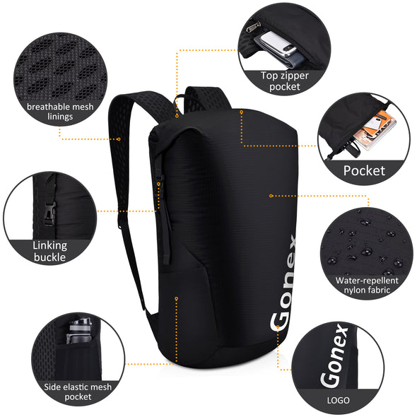 Gonex Ultralight Handy Lightweight Packable Backpack