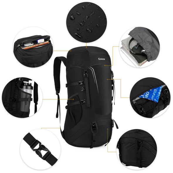Gonex Lightweight Packable Hiking Backpack