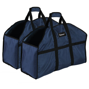 Firewood Log Carrier, Gonex Durable and Waterproof Nylon Log Tote Bag for Fireplaces & Wood Stoves, Extra Large