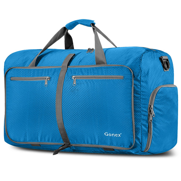 Gonex 80L Packable Travel Duffle Bag Large Lightweight Luggage Duffel 14 Color Choices