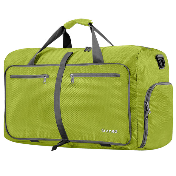 Gonex 80L Weekender Bag Foldable Waterproof Outdoor Bag