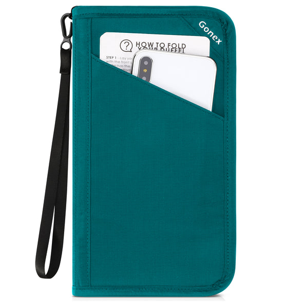 Gonex Passport holder RFID Blocking Travel Wallet