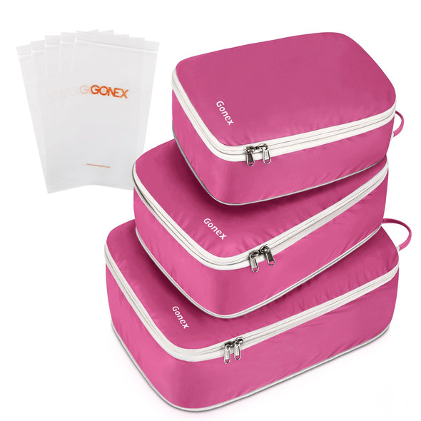 Gonex Double Sided Compression Packing Cubes Set