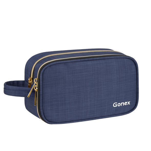 Gonex Travel Makeup Bag for Women with Mirror