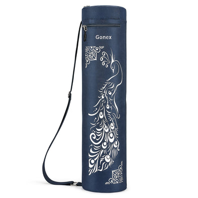 Gonex Full-Zip Yoga Mat Bag with 2 Cargo Pockets