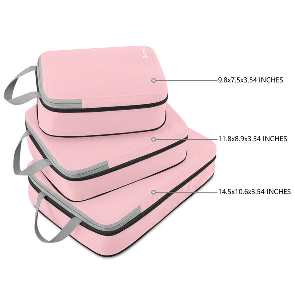 Gonex Extensible Packing Cubes 3Pcs Set