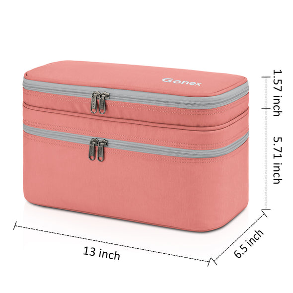 Double-layer Bra Organizer Lingerie Packing Storage Case