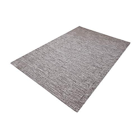 MystiqueDecors Beige Brown 100% Cotton 5x7' Area Rug Reversible Indoor/Outdoor, Living Room, Bedroom Décor, Machine Washable
