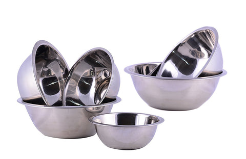 Cuissentials Stainless Steel Mixing Bowls - Set of 6