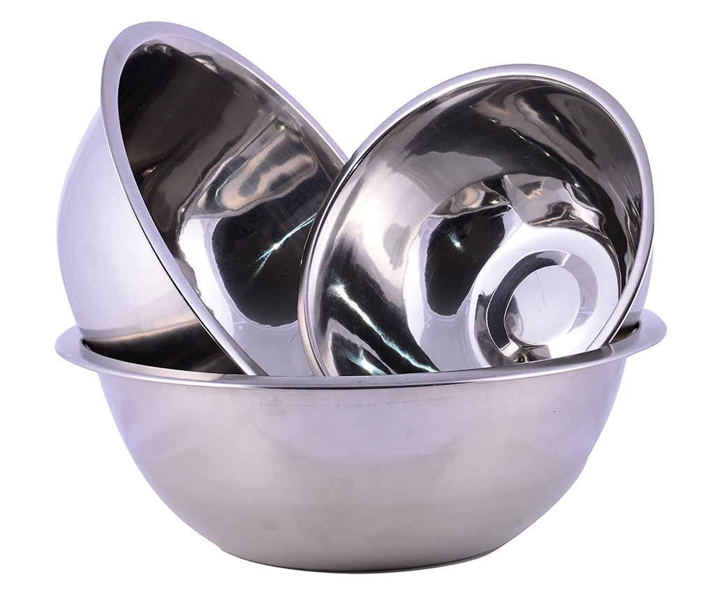 Cuissentials Stainless Steel Mixing Bowls - Set of 3