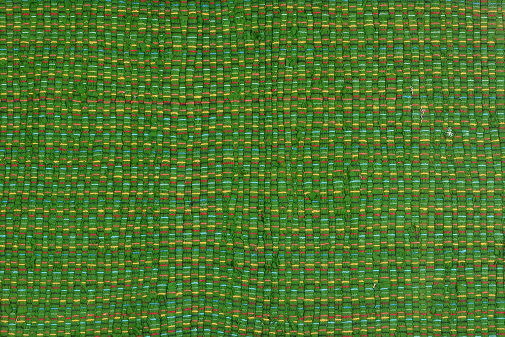 Multi Purpose Mats Multi Chindi Mats-Green Size 22''x 38''
