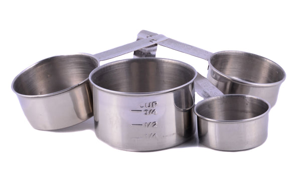 Cuissentials Stainless Steel Kitchen Mixing Bowls - Set of 6 & 4 Pieces Measuring Spoons & Measuring Cups