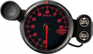 Red Racer Gauge 80 tachometer