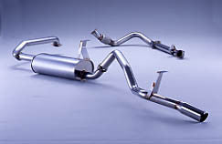 FUJITSUBO Legalis4 Exhaust For LJ78G · LJ78W Land Cruiser Prado 70 2.4 DT 260-20711