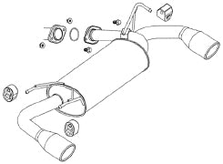 FUJITSUBO AUTHORIZE S Exhaust For TZ51 Murano 2.5 2WD 360-18221