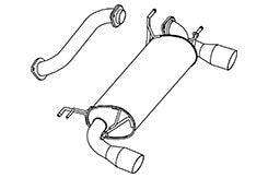 FUJITSUBO AUTHORIZE R Exhaust For NCEC Roadster 560-42431