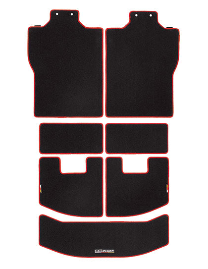MUGEN Sports Luggage Mat black-red  For N-BOX JF3 JF4 08P11-XNH-K0S0-RD