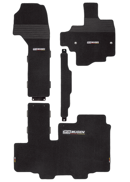 MUGEN Sports Mat Black  For N-BOX JF3 JF4 08P15-XNH-K1S0-BK