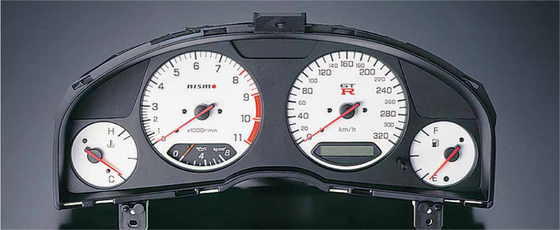 NISMO Combination Meter  For Skyline GT-R BNR34  24810-RNR45-WH