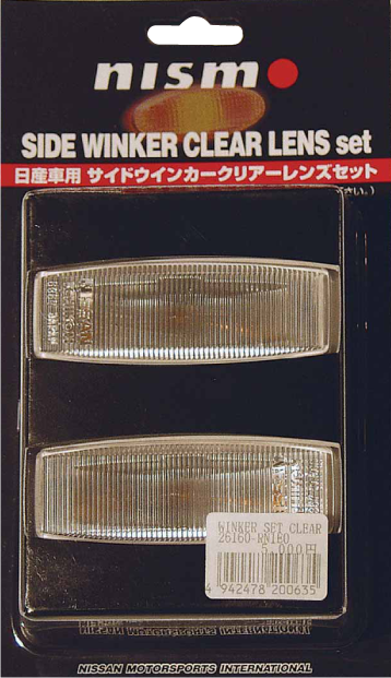 NISMO Clear Type Side Winker  For Skyline GT-R BNR34 -'00/8  26100-RNC40