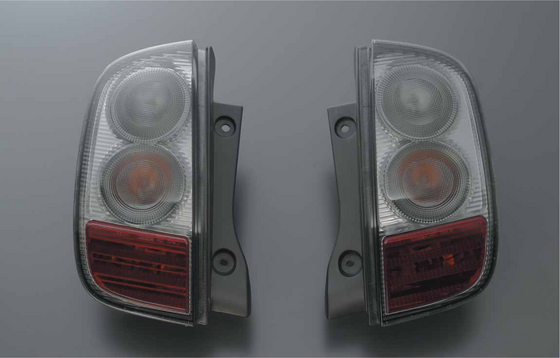 NISMO Rear Combination Smoke Lamp Set  For March K12  26550-RNK20