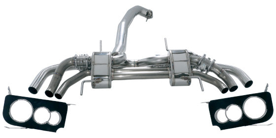 HKS 3sx Muffler EXHAUST For NISSAN GT-R R35 VR38DETT 31025-AN006
