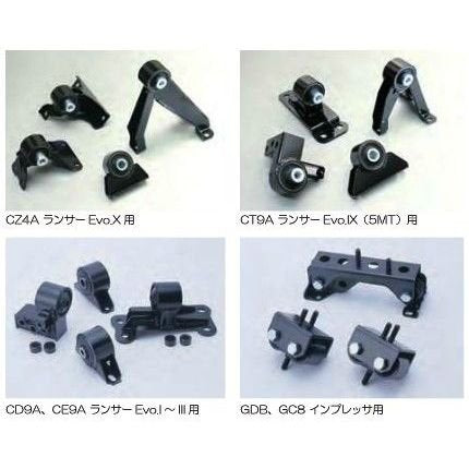 CUSCO Engine Mounts  For MITSUBISHI Lancer Evolution CN9A (Evo.4) 560 911 SET